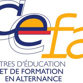 Les formations en alternance dispensées par les CEFA