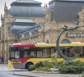 La priorisation du bus entre le dépôt de Stockem et la gare d'Arlon