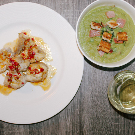 Pea Soup and Monkfish | Eataly Challenge