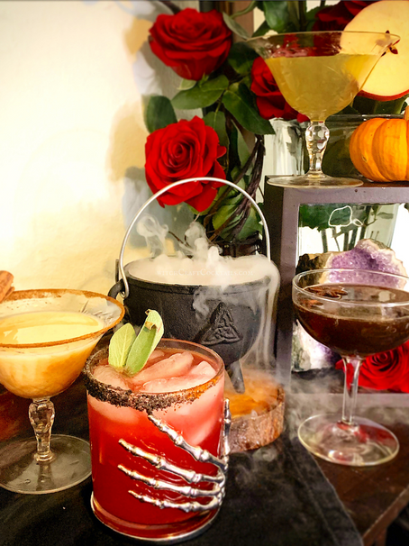 4 Spooky Halloween-Themed Cocktails