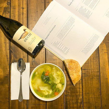 Vegetable Minestrone & Chardonnay | Eataly Challenge