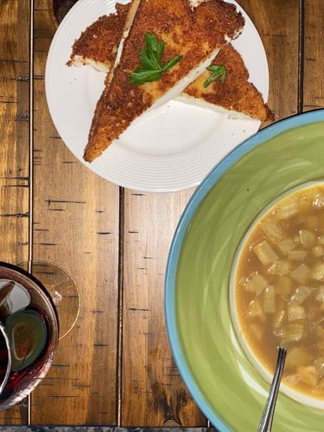 Fried Mozzarella Sandwiches & Fennel Soup | Eataly Challenge