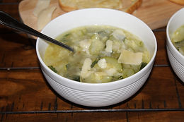 Zucchini Soup with Croutons | Eataly Challenge