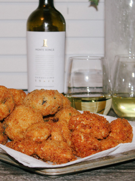 Potato Cakes & Chicken Fritters | Eataly Challenge