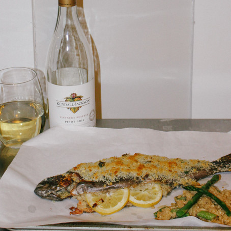 Fresh Trout, Risotto & Pinot Gris | Eataly Challenge