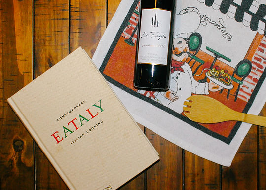 Eating Our Way Through Eataly: Contemporary Italian Cooking