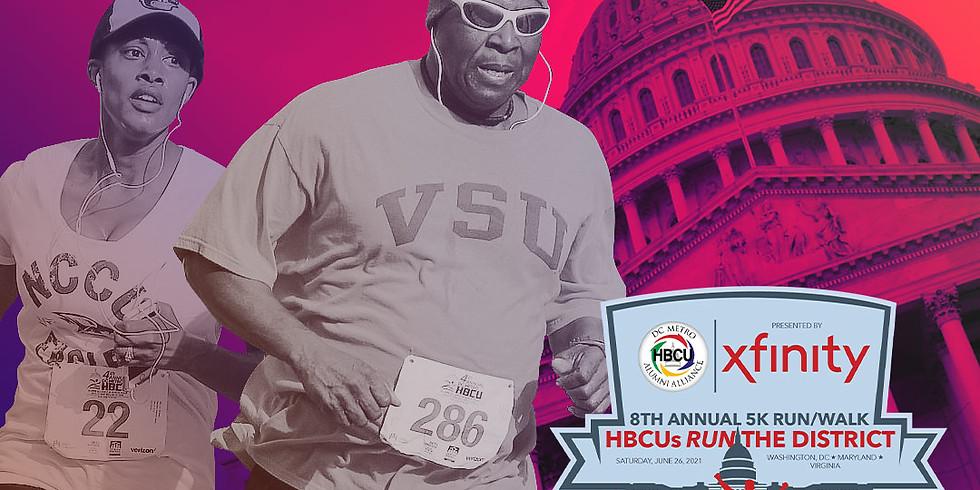 DC HBCU Alumni Alliance 5K Run/2K Walk (Virtual)