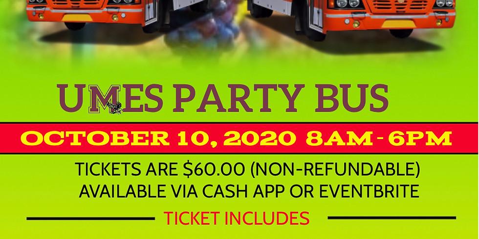 UMES SoMD Hawk's Autumn Reggae Wine & Music Festival Party Bus