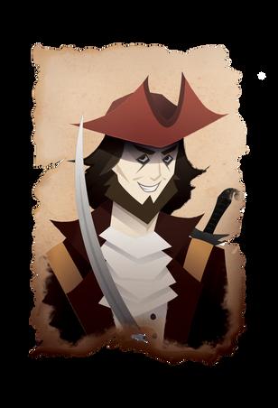 1650's – 1730's:  Person - Kidd the Pirate