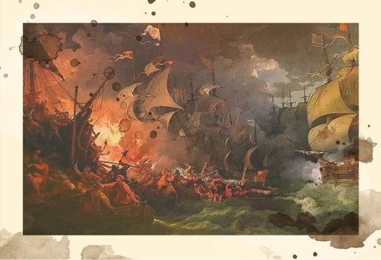1500's - 1700's:  Event -  Conflict between Spanish and English on the high seas