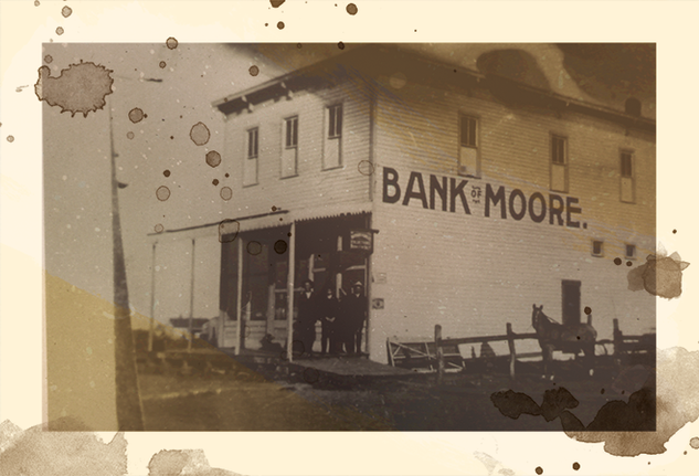 1880's - Place: Moore, Oklahoma