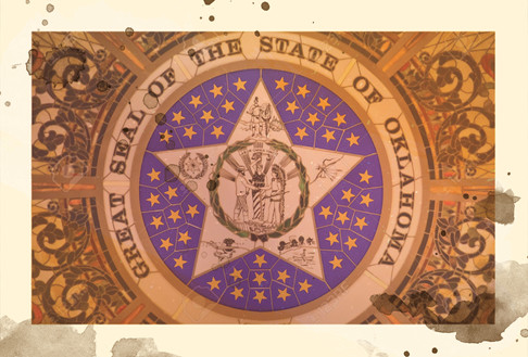 1905 - Object: Oklahoma State Seal