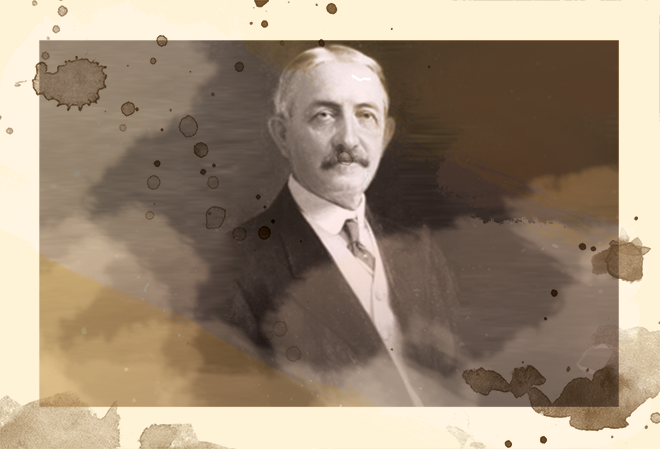 1890's - Person: David Ross Boyd, First President of the University of Oklahoma