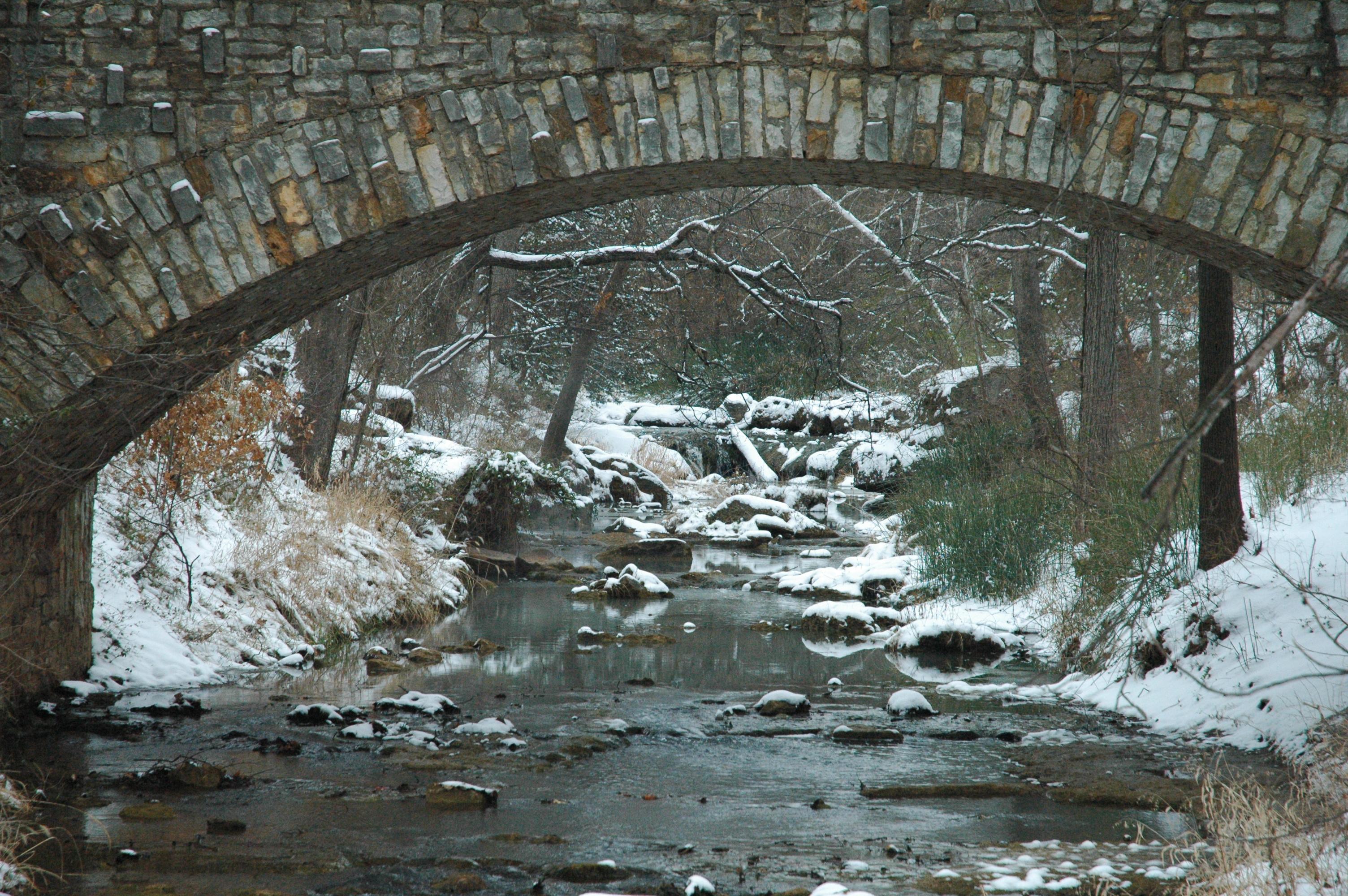 Lincoln Bridge Winter