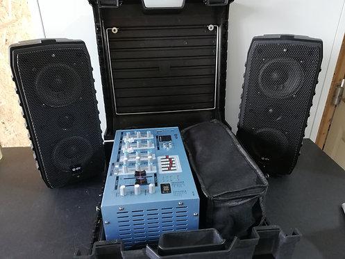QTX Suitcase PA system