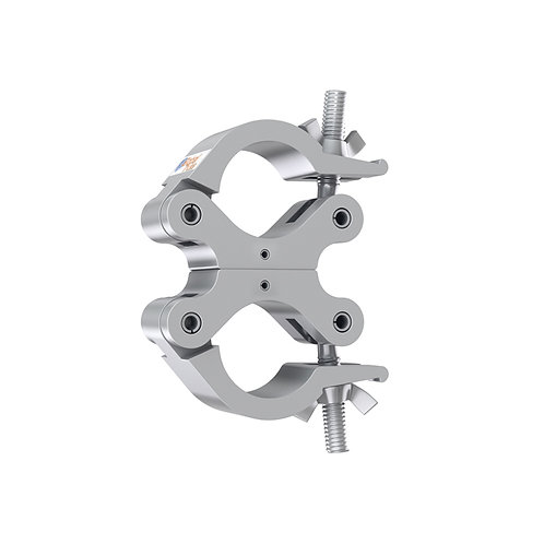 Fixed Parallel Swivel Coupler Silver