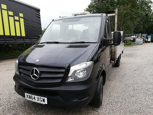 2014 Mercedes Sprinter 314 Dropside Black