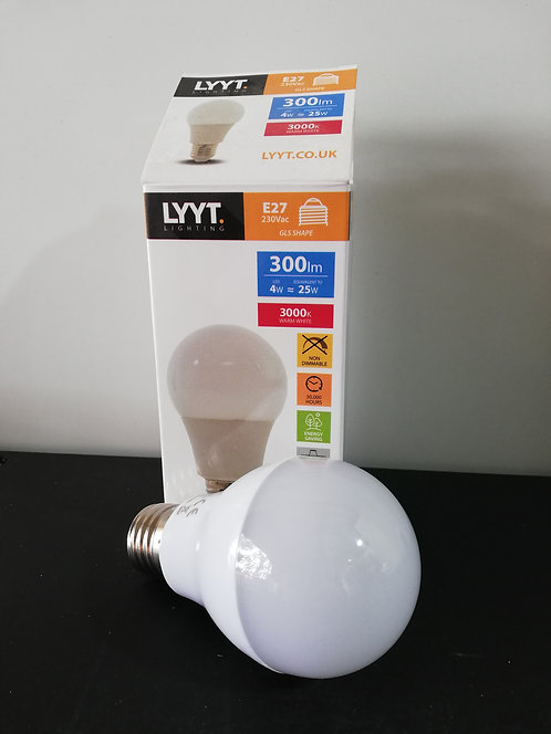 LYYT E27 Warm White LED Bulb