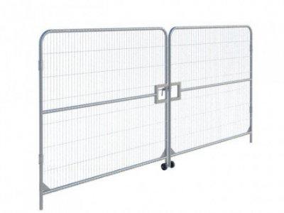 Heras Vehicle access gate
