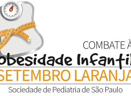 Setembro Laranja: combate a obesidade infantil