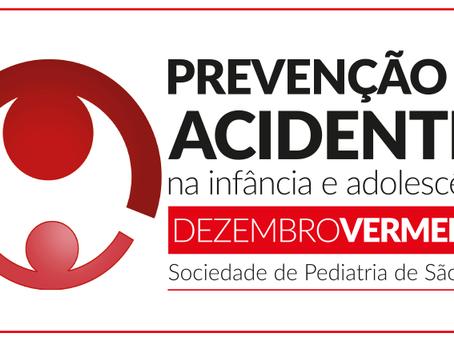 Dezembro Vermelho – prevenção de acidentes na infância e adolescência