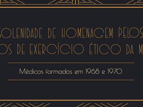 Cremesp homenageará médicos paulistas pelos 50 anos de exercício ético da Medicina