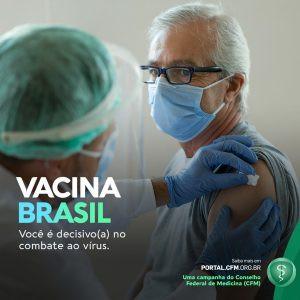 Campanha incentiva vacinação contra a covid-19