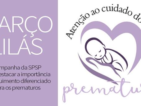 Março Lilás – prematuridade e aleitamento materno
