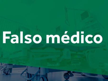Cremesp identifica falso médico atuando em hospital da Zona Leste paulista