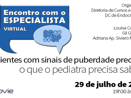 Pacientes com sinais de puberdade precoce, o que o pediatra precisa saber? (zoom)