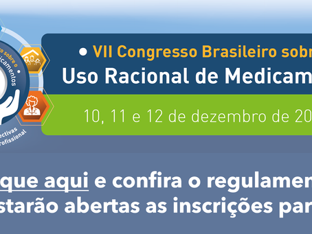 Congresso do Ministério da Saúde debaterá desafios e perspectivas para o uso racional de medicamento