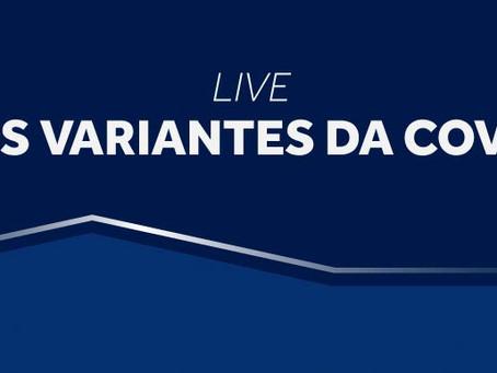Cremesp promove live sobre as variantes da Covid-19