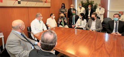 Cremesp defende a vacinação de todos os médicos em reunião com o novo ministro da Saúde