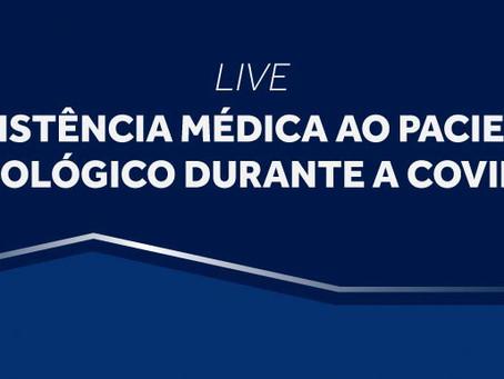 Cremesp promove live sobre o atendimento médico ao paciente oncológico durante a Covid-19