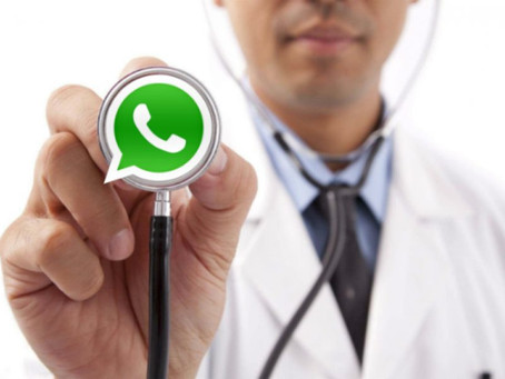 A medicina no whatsapp: o que pode e o que não pode