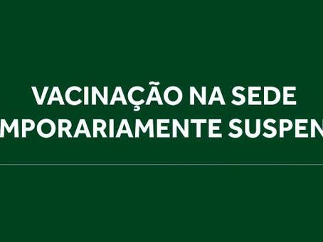 Vacinação contra covid-19 será suspensa a partir de quarta-feira (17/3) por determinação da SMS-SP