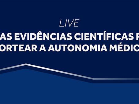 """Cremesp promove live sobre """"Como as evidências científicas podem nortear a autonomia médica"""""""