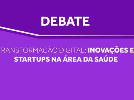 """Cremesp promoveu debate """"Transformação digital: Inovações e Startups na área da Saúde"""""""