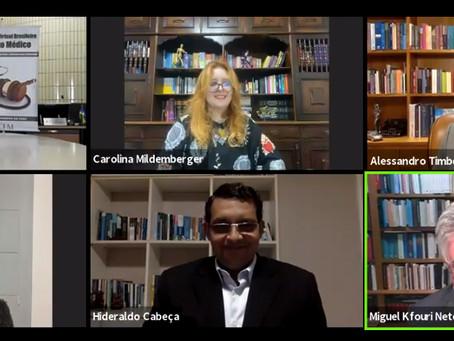 Publicidade médica foi destaque em primeiro dia de debate de I Congresso Virtual de Direito Médico