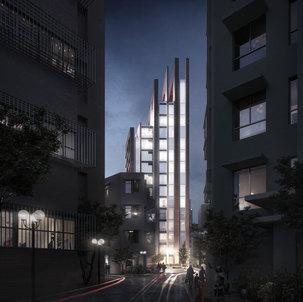 Pitched Skyline | High Density Urban Redevelopment
