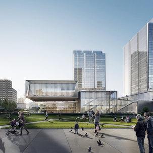 Undulated Urban Platform - Convention Centre | Transit Oriented