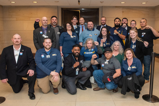 We came, we lobbied, we won: USW members witness PROAct passage in House
