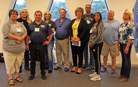 USW Health Care Workers in Action Healthcare members organize and strategize in Pittsburgh