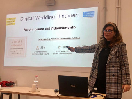 Il digital wedding alla #SMWRME