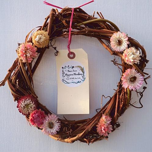 "10""Grape Vine Wreath"
