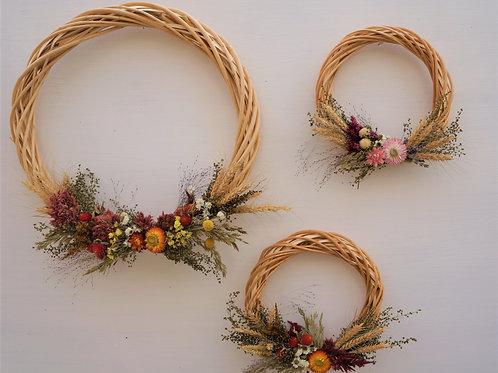 "Harvest Wreath 8"""