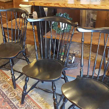 Refinished Windsor Chairs