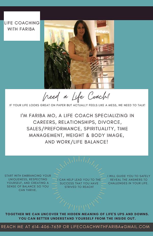 Life Coaching with Fariba