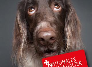 Das neue Nationale Hundehalter Brevet mit neuer Werbung