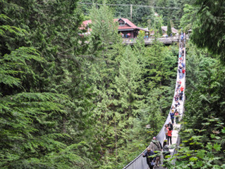 Capilano Suspension Bridge e outras pontes suspensas